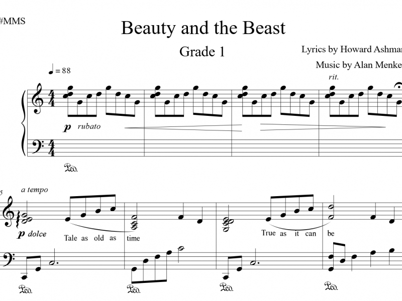 Beauty and the Beast - Grade 1