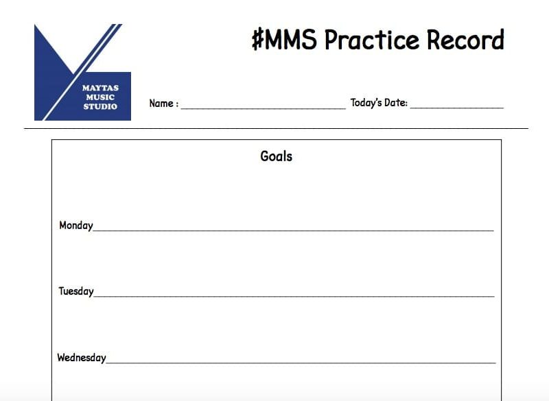 #MMS Practice Record