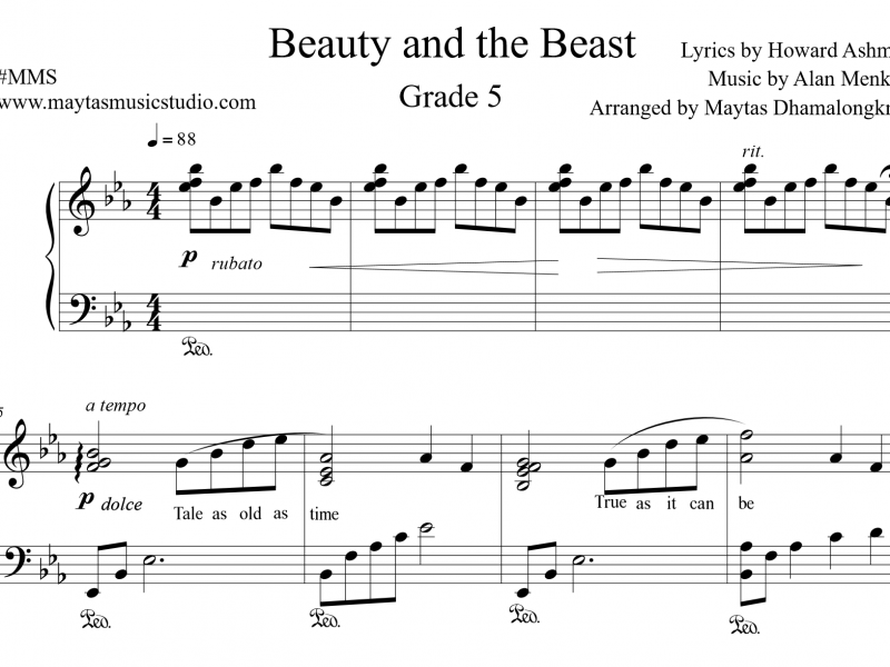 Beauty and the Beast : Grade 5