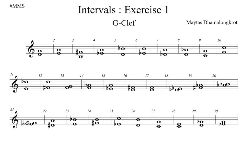 Interval EX 1