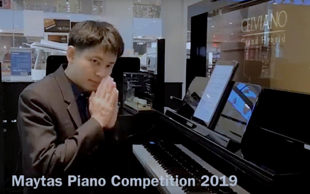 จุดประสงค์การจัดการแข่งขัน Maytas Piano Competition 2019
